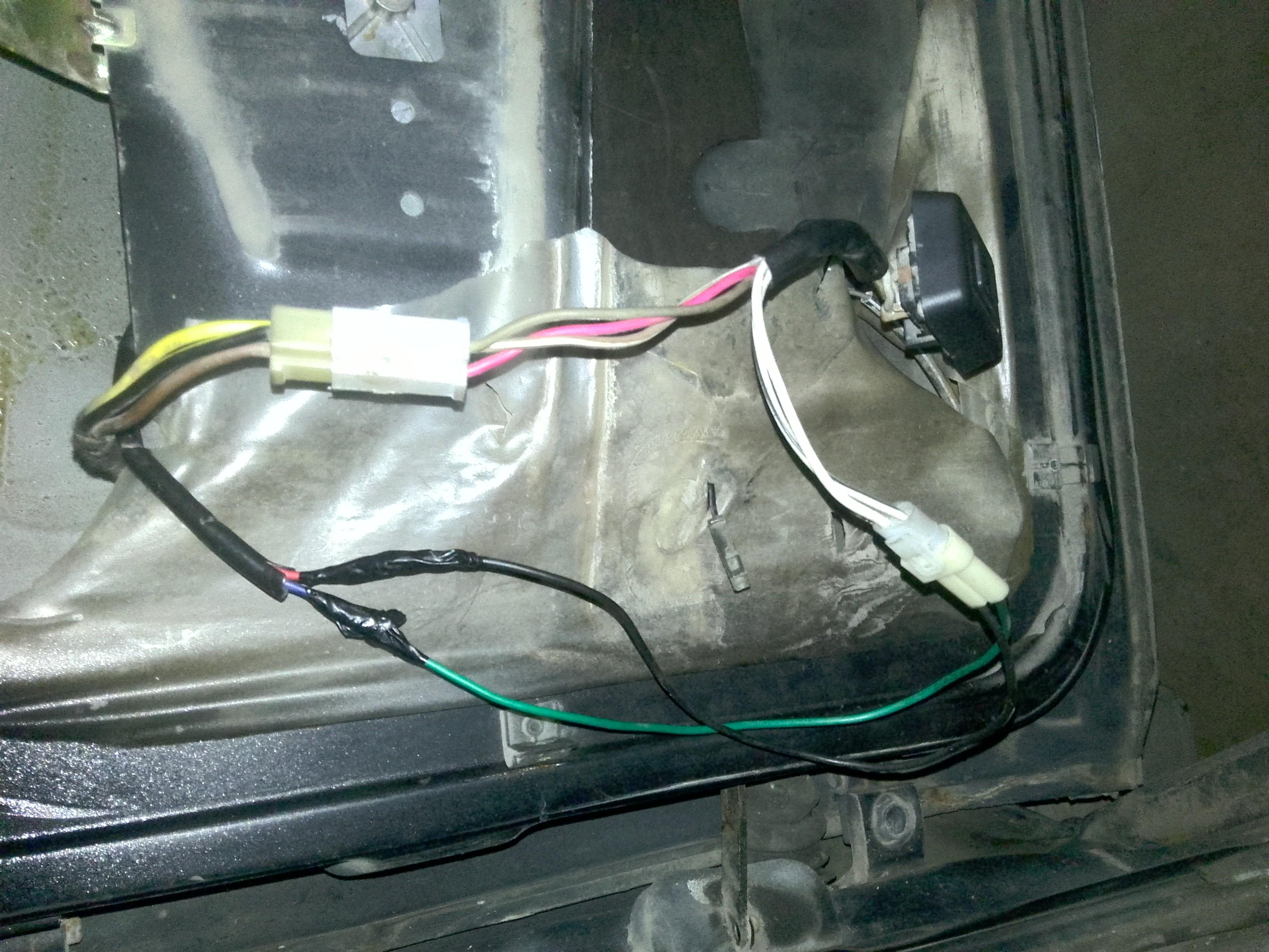 五线汽车钥匙门接线图