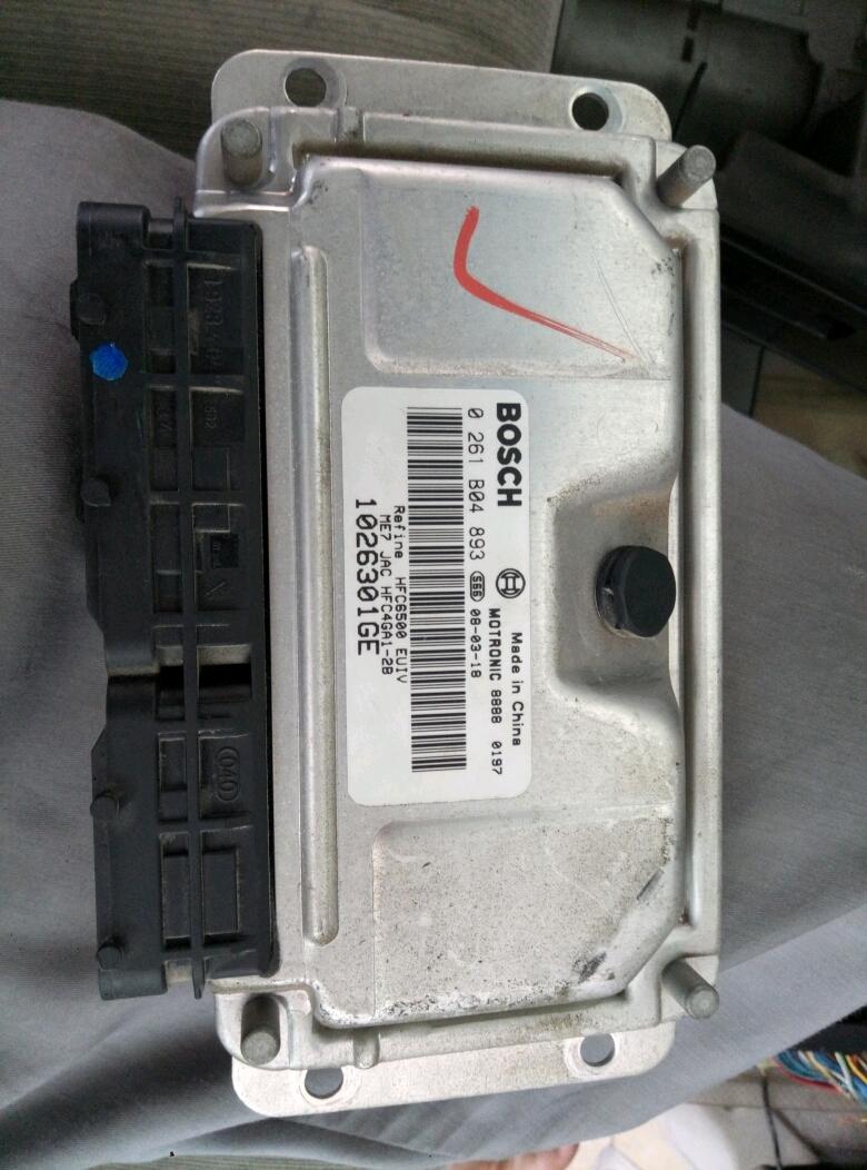 4ga1-2b发动机的电脑板针脚图