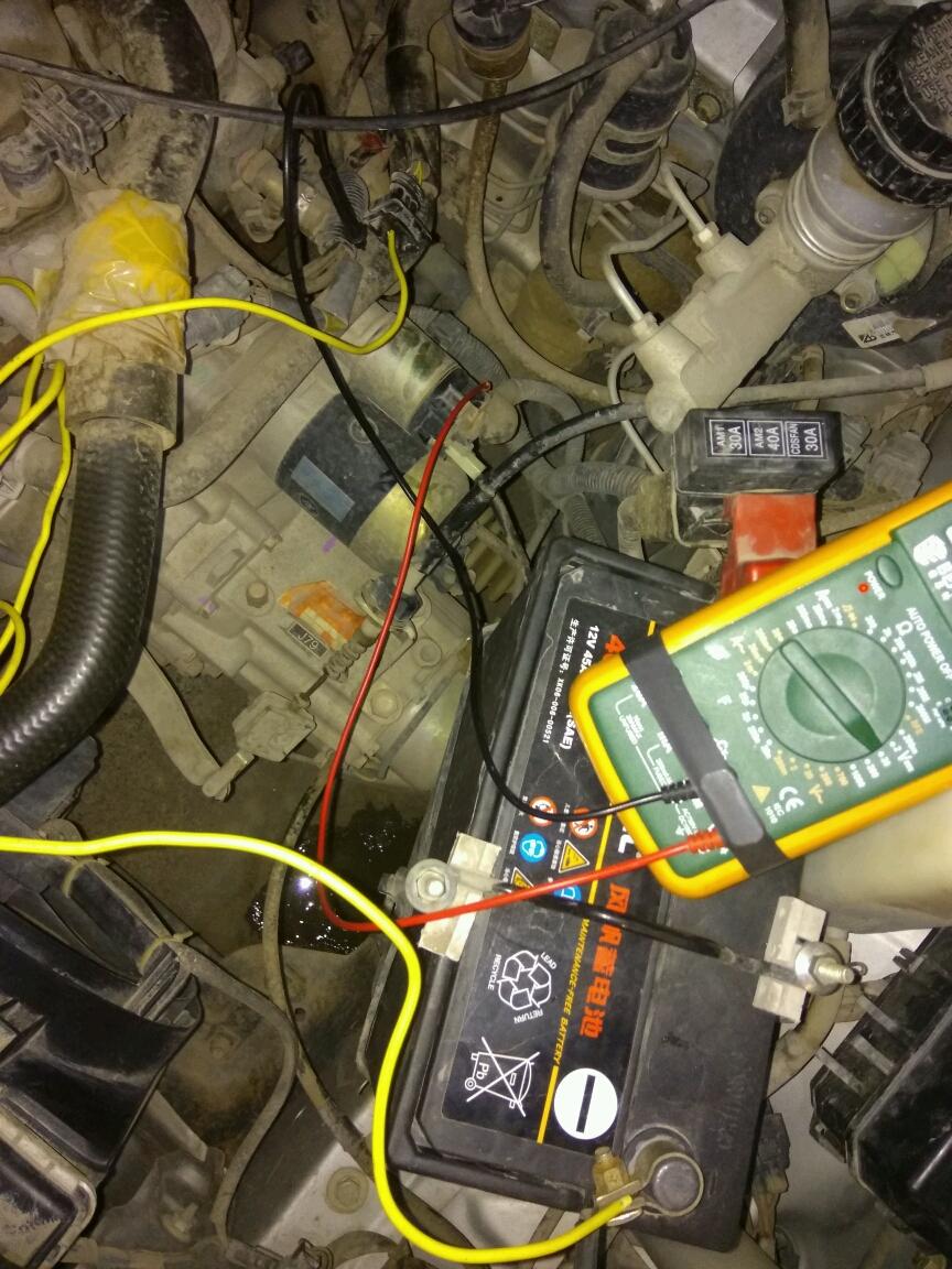 夏利n3油表电路图