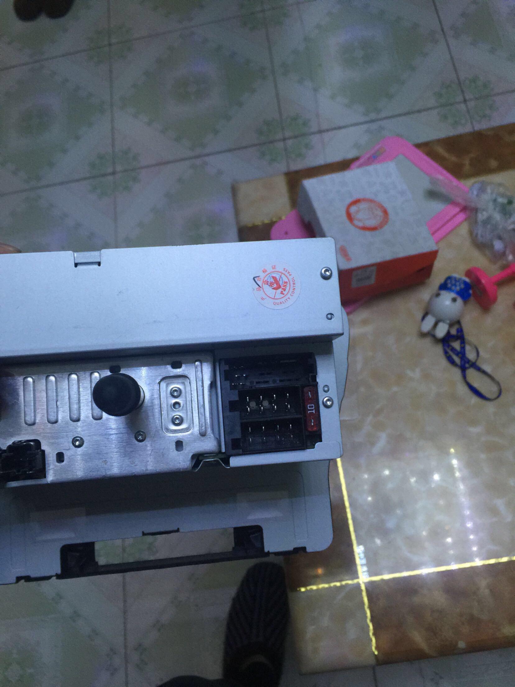 问题详情  请问下 海马m5的cd 电源线该接哪个插口 1年前 上面有电路
