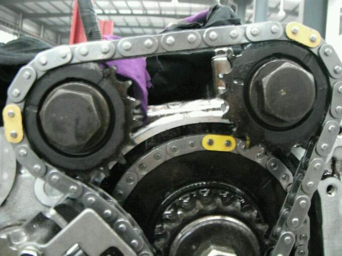 日产ka24发动机凸轮轴记号怎么对