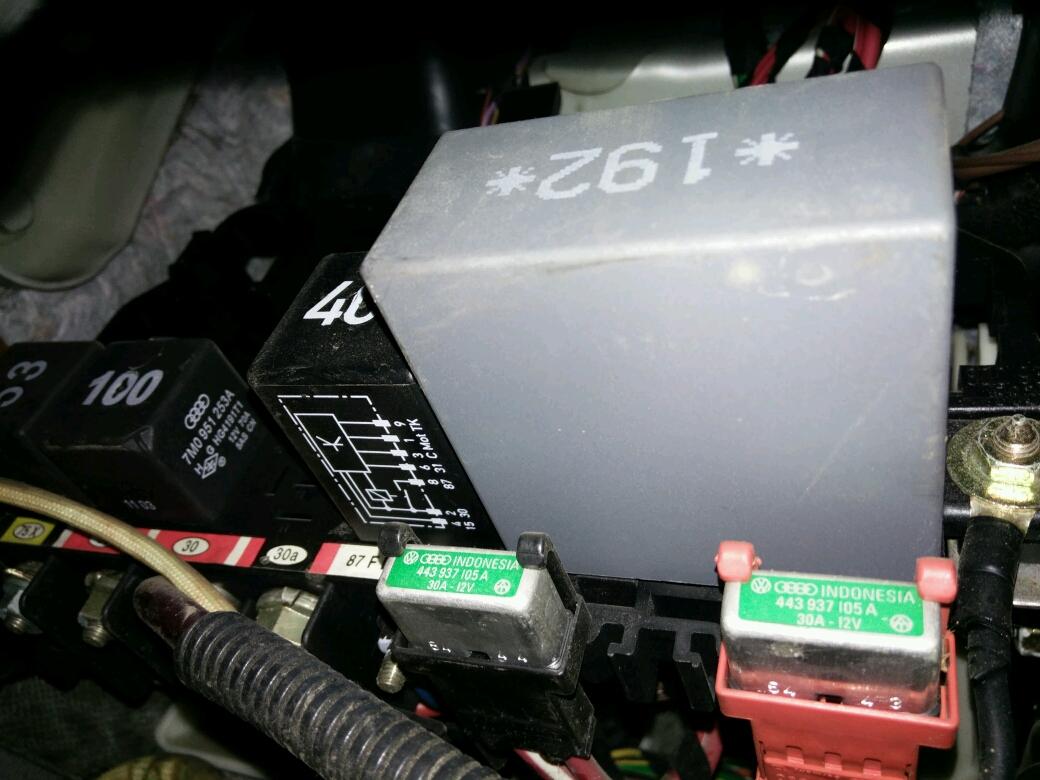 04年宝来雨刮器继电器在哪,多少号?