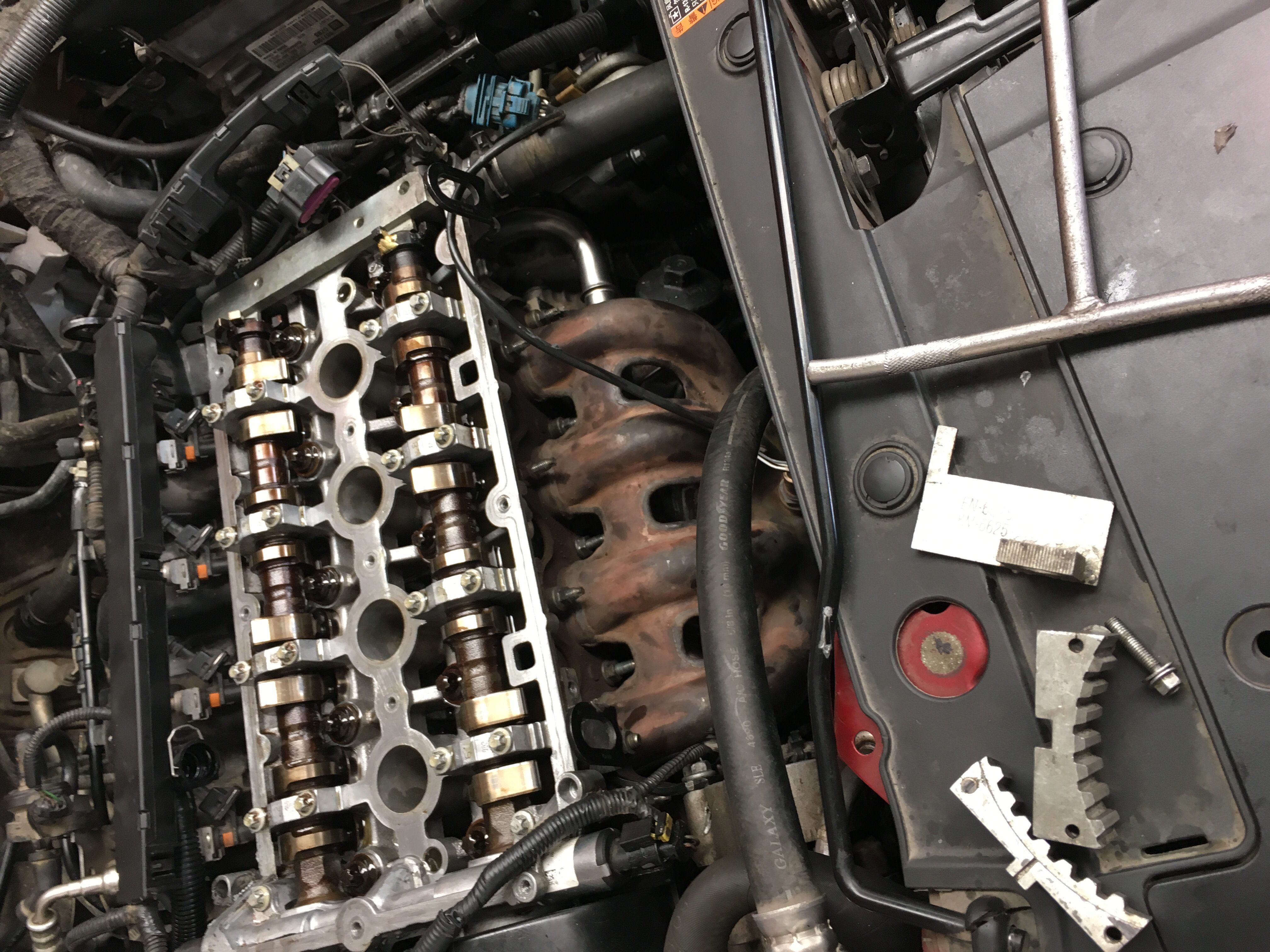 雪佛兰发动机正确拆装