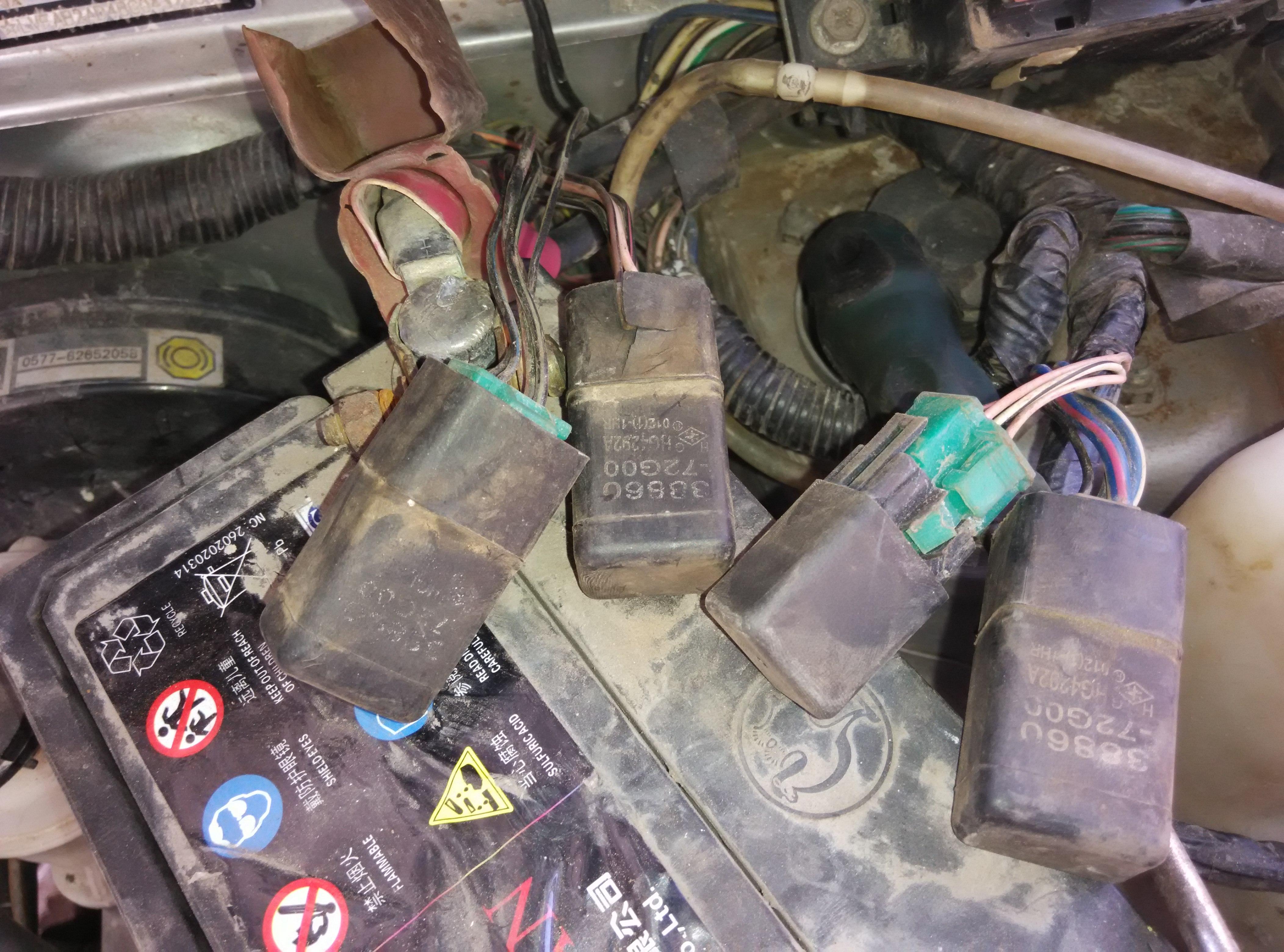 北斗星油泵不工作 油泵没坏 请问油泵继电器具体是哪个?